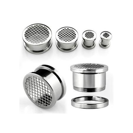Piercing tunneil oreille grinder acier