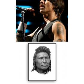 Anthony Kiedis Tattoo Indien