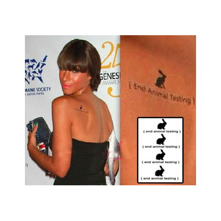 Leona Lewis Tattoos temporaires