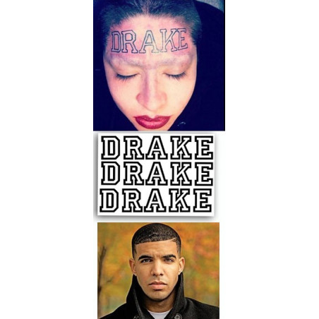 Drake Tattoos temporaires