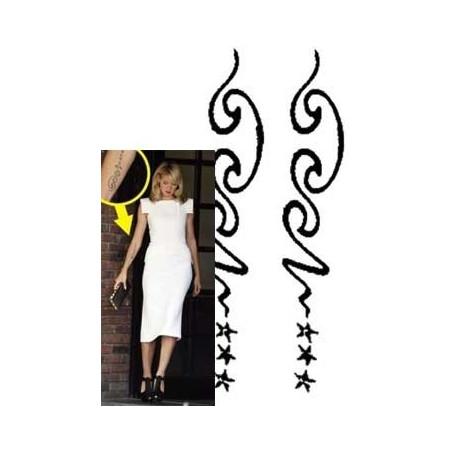 Heidi Klum Tattoo