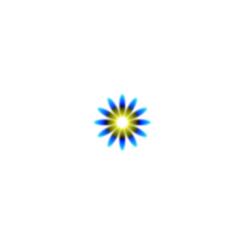 Tatouage autocollant illusion d'optique