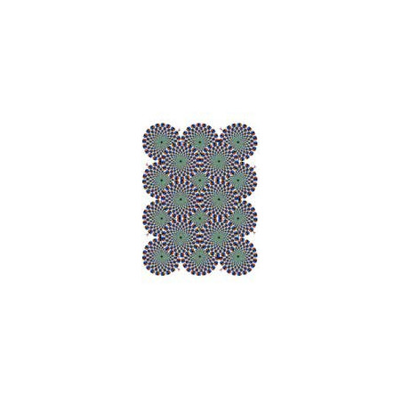 Tatouage autocollant illusion d optique