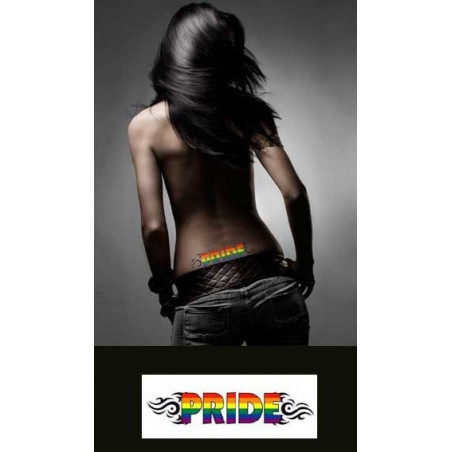 Tatouage temporaire pride