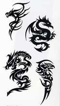 Tatouage Dragon Tribal Tarawa Piercing