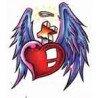 Tatouage Cœur Ailes