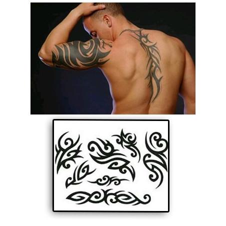 Tatouages Tribal autocollants 002