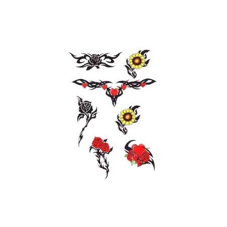 Tattoo Rose autocollant