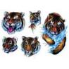 Tattoo Tigre Tribal autocollant