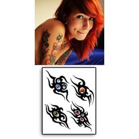 Tattoos Tribal cristal autocollants