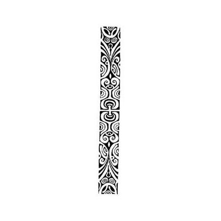 Tatouage bracelet polynésien Polynésien