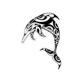 Tatouage Polynesien Dauphin