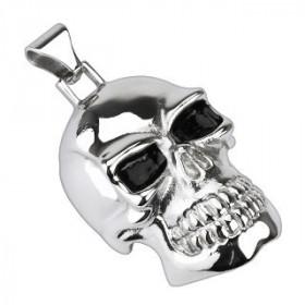 gros Pendentif Skull xl acier chirurgical inoxydable bijou bicker tête de mort
