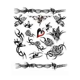 Tattoos Papillons Tribal