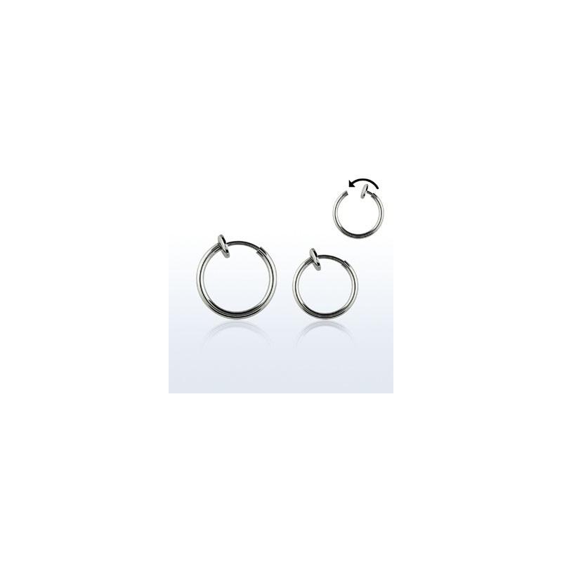 faux piercing anneaux acier tarawa piercing. Black Bedroom Furniture Sets. Home Design Ideas