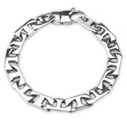Bracelet Acier chirurgical gourmette T-LINK