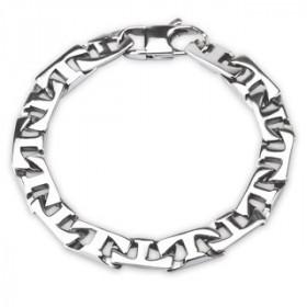Bracelet homme en  Acier chirurgical gourmette T-LINK