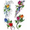 Tatouage Roses Tribal