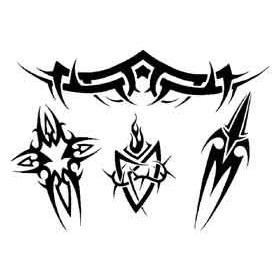 Tattoos Tribal autocollants