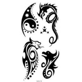 Tatouage Tribal autocollant