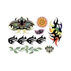 Tatouage Tribal couleur autocollant