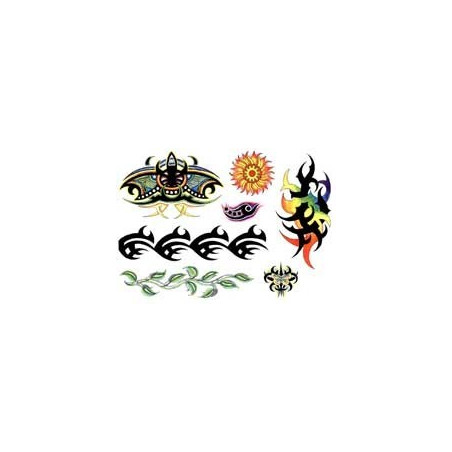 Tatouage Tribal couleur autocollant