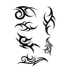 Tribal tattoo Decals