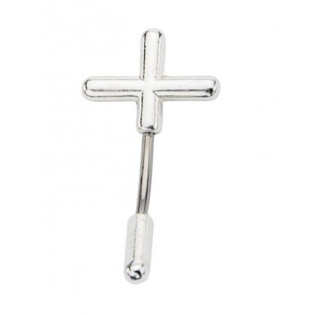 Piercing nombril croix