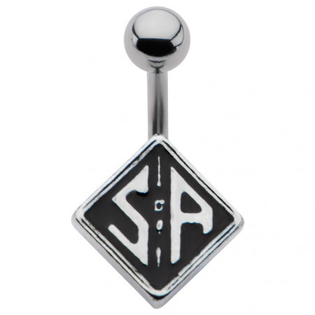 Piercing nombril en acier chirurgical logo serie tv Sons of Anarchy