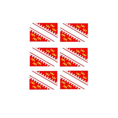 Tatouage Drapeaux Alsace