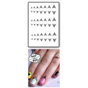Tatouages Temporaires Ongles et Cuticules lignes