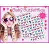 Butterflies partie Tattoos temporaires