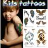 Tatouages temporaires enfants Tahiti