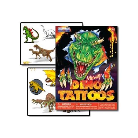 Dinausore tatouages temporaires enfants