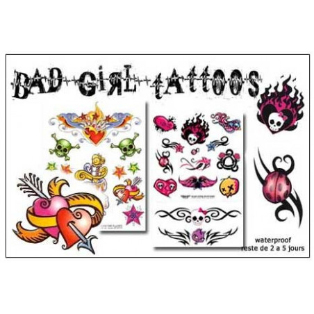 Bad Girl Tattoos