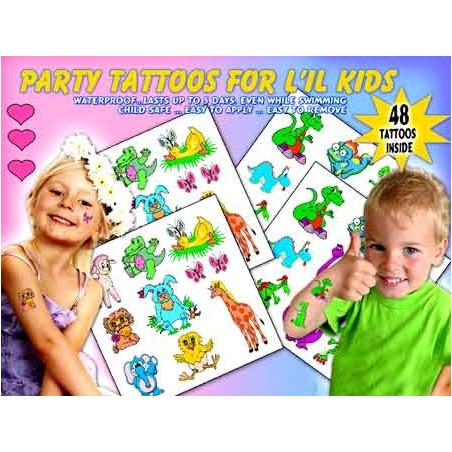 Kids Anniversaire Tattoos