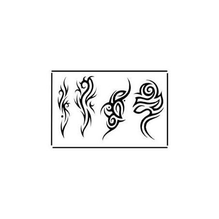 Tatouage Tribal Couleur