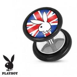 Faux piercing plug playboy Royaume unis