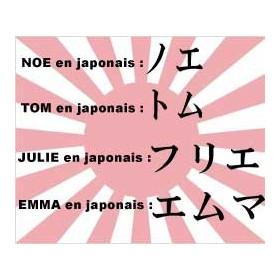 Tatouage prenom JaponaisTatouage prenom Japonais