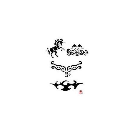 Planche Tattoo tribal