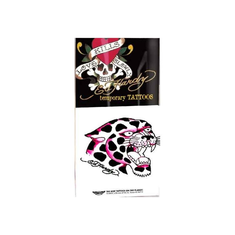 Ed Hardy Tattoos temporaires Tigre