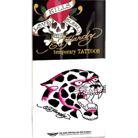 Ed Hardy Tattoos temporaires Tigre