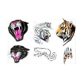 Tigre tattoo autocollant