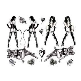 Pin Up Tattoos temporaire