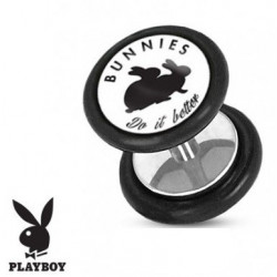 Faux piercing plug playboy lapin Do it better
