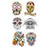 Tattoos temporaires le jour des morts Mexicain