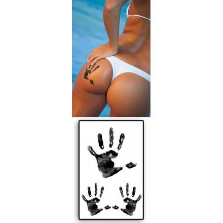 Tatouages temporaires Marques de grandes Mains