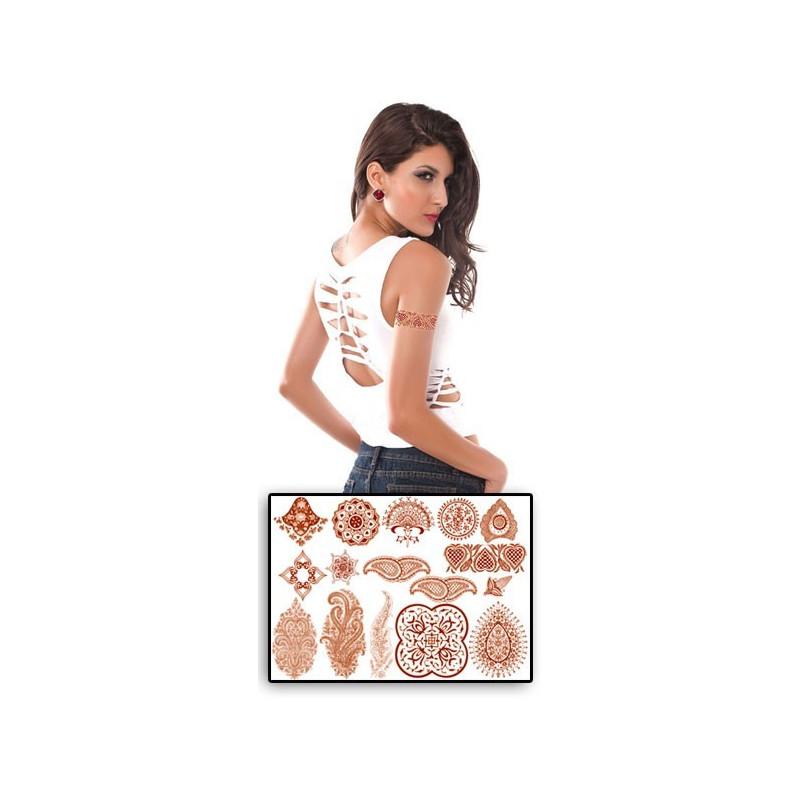 Tatouages ephemeres Henné