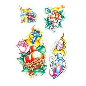 Tattoo Coeur autocollant