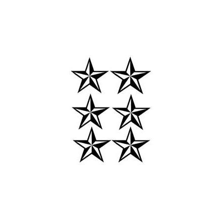 Star Tattoo autocollant